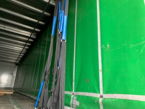 2017 Montracon Curtainsider, 4.2m External Height, 2.59m Internal Height, BPW Axles, Drum Brakes, Wisa Deck Floor, Barn Doors, Internal Straps, Raise Lower Valve Facility.
