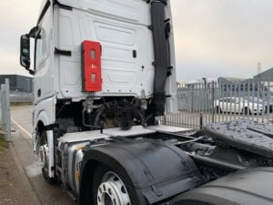 2019 Mercedes Actros, Euro 6, 510bhp, Bigspace Single Sleeper Cab, 4m Wheelbase, Mid-Lift Axle, Automatic Gearbox, Fridge, Air Con, Cruise Control, Steering Wheel Controls, Low Mileage, Choice & Warranty Available.