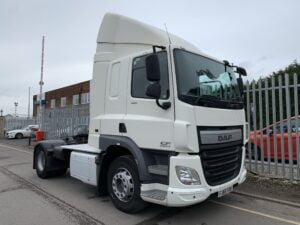 2015 (65) DAF CF, Euro 6, 400bhp, Space Single Sleeper Cab, Automatic Gearbox, 3.85m Wheelbase, Aluminium Catwalk Infill Panels, Steering Wheel Controls, Air Con, Cruise Control, Xtra Comfort Mattress, Choice & Warranty Available.