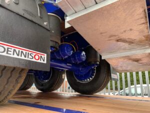 Brand New Dennison Flat Trailer. 13.6m Tri Axle, 12 x Post & Sockets, BPW Axles, Drum Brakes, Keruing Floor, Raise Lower Valve Facility, ENXL Rated Headboard, Full Manufacturer Warranty Applies.