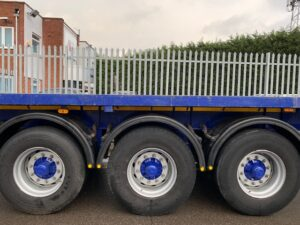 2019 Dennison Flat Trailer, BPW Axles, Drum Brakes, Keruing Floor, Posts & Sockets, Raise Lower Valve Facility, Storage Tray Fitted, ENXL Rated Headboard.
