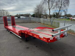Brand New 2021 Dennison Lowloader Trailer, BPW Axles, Drum Brakes, Bluetooth Controlled Winch, Outriggers, Lashing Rings, Single Flip Ramps, Lift Axle, Raise Lower Valve Facility, 17.5 Inch Wheels, Full Manufacturers Warranty Applies.