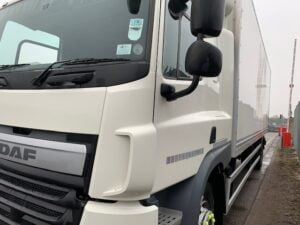 2017 DAF CF Box Tailift, 18 Tonne, 250bhp, Euro 6, Dhollandia Tuckunder Tailift (1500kg Capacity), Automatic Gearbox, Montracon 27ft Body, Single Sleeper Cab, Steering Wheel Controls, Barn Doors, Low Mileage, Choice & Warranty Available.