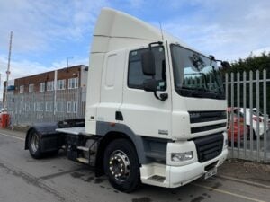 2012 (62) DAF CF, Euro 5, 410bhp, Space Single Sleeper Cab, Automatic Gearbox, 3.8m Wheelbase, Aluminium Catwalk Infill Panels, Steering Wheel Controls, Xtra Comfort Mattress, Rear Window in Cab, Choice & Warranty Available.