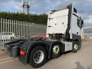 2018 Mercedes Actros, Euro 6, 450bhp, Streamspace Single Sleeper Cab, Mid-Lift Axle, Automatic Gearbox, Air Con, Cruise Control, Steering Wheel Controls, Low Mileage, Choice & Warranty Available.