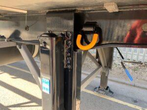 2017 Gray & Adams Fridge Trailer. Carrier Vector 1950Mt Fridge Engine, 4.25m External Height, 2.59m Internal Height, BPW Axles, Drum Brakes, Aluminium Floor, Barn Doors, Rear Steer on Middle & Rear Axles, Raise Lower Valve Facility, 51 Foot Overall Length, Choice Available.