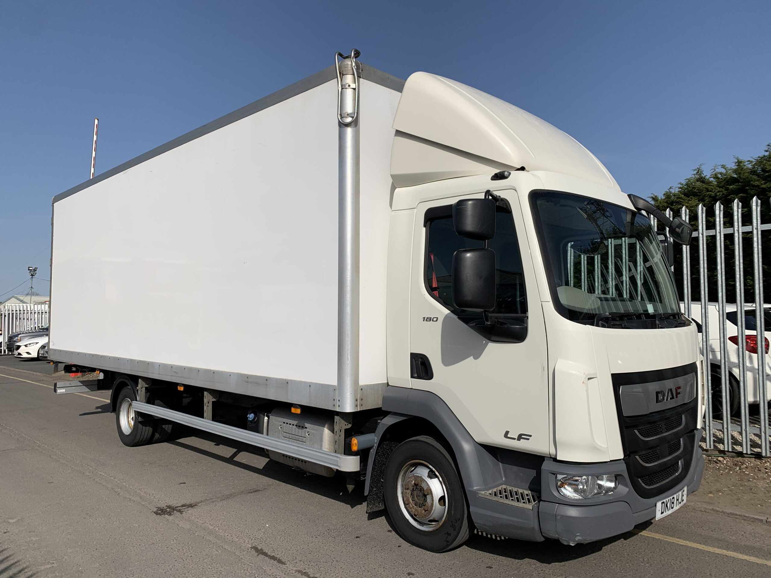 2018 DAF LF, 7.5T, Euro 6, 180bhp, 24ft Body, Wisa Deck Floor, Barn Doors, Day Cab, Automatic Gearbox, Low Mileage, Choice & Warranty Available.
