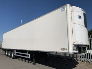2017 Chereau Dual Temp Fridge Trailer, Thermoking SLXi Spectrum Fridge Engine, 2.59m Internal Height, BPW Axles, Drum Brakes, Resin Floor, Barn Doors, 2 x Load Lock Rails, Raise Lower Valve Facility.