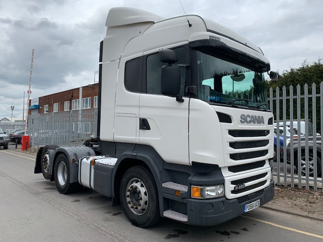 2016 (66) Scania, Euro 6, 450bhp, Tag Axle, Opticruise Gearbox, Highline Double Sleeper Cab, Twin Fuel Tanks, Fridge, Air Con, Low Mileage, Warranty Options Available.