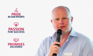 Cameron Thomson, Culture, Learning & Development Director
