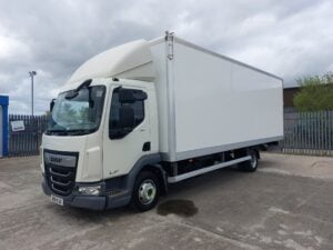 2018 DAF LF, 7.5 Tonne, Euro 6, 180bhp, Automatic Gearbox, 24ft Body, 4.95m Wheelbase, Barn Doors, Day Cab, Steering Wheel Controls, Choice, Warranty & Finance Options available.