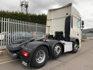 2017 DAF XF, Euro 6, 510bhp, Superspace Twin Sleeper Cab, AS Tronic Automatic Gearbox, 3.95m Wheelbase, Aluminium Catwalk Infill Panels, Steering Wheel Controls, Mid-Lift Axle, Air Con, Radio/USB, Fridge, Electrically Heated & Adjustable Mirrors, Xtra Comfort Mattress, Low Mileage, Choice & Warranty Available.