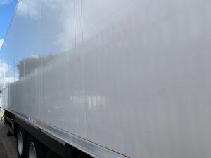 2013 Schmitz Single Temp Fridge Trailer, Thermoking SLX-e Fridge Engine, 4.08m External Height, 2.59m Internal Height, SAF Axles, Drum Brakes, Aluminium Floor, Barn Doors, 2 x Load Lock Rails, Raise Lower Valve Facility, Spare Wheel Carrier.