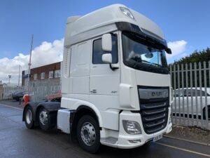 2019 DAF XF, Euro 6, 530bhp, Superspace Twin Sleeper Cab, Automatic Gearbox, 3.95m Wheelbase, Steering Wheel Controls, Air Con, Cruise Control, Xtra Comfort Mattress, Sat-Nav, Fridge, Mid-Lift Axle, Aluminium Catwalk Infill Panels, Low Mileage, Choice & Warranty Available.