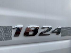 2013 (63) Mercedes Axor Fridge Tailift, 18 Tonne, Euro 5, 240bhp, Automatic Gearbox, Solomon Body, Roller Shutter Rear Door, Dhollandia Column Tailift, Carrier Supra 850Mt Fridge Engine, Day Cab, Steering Wheel Controls.