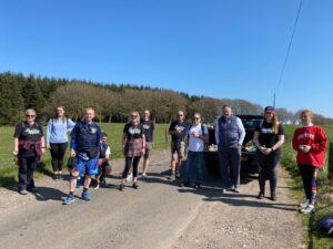 Charity Kiltwalk by Asset Alliance Group