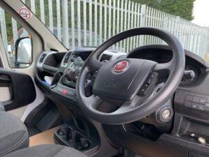 2017 (67) Fiat Ducato Box, Manual Gearbox, Day Cab, 130bhp, DEL Column Tailift (500kg Capacity), Radio/USB, Boxvan Body, Roller Shutter Rear Door, Steering Wheel Controls, Choice & Warranty Available.