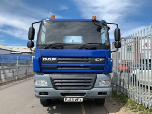 2013 DAF CF 85, Hookloader. AJK Hydrolift Gear, 8×4, 32 Tonne, Euro 5, 360bhp, Day Cab, Automatic Gearbox, Camera System, Steering Wheel Controls, Warranty & Choice Available.