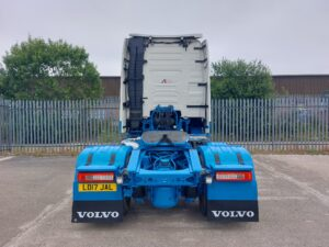 2017 Volvo FH, Euro 6, 540bhp, GTXL Single Sleeper Cab, 4.1m Wheelbase, Mini Mid -Lift Axle, Automatic Gearbox, Fridge, Microwave, Air Con, Cruise Control, Alloy Wheels, Camera System, Low Mileage, Choice of, Warranty & Finance Options also Available.