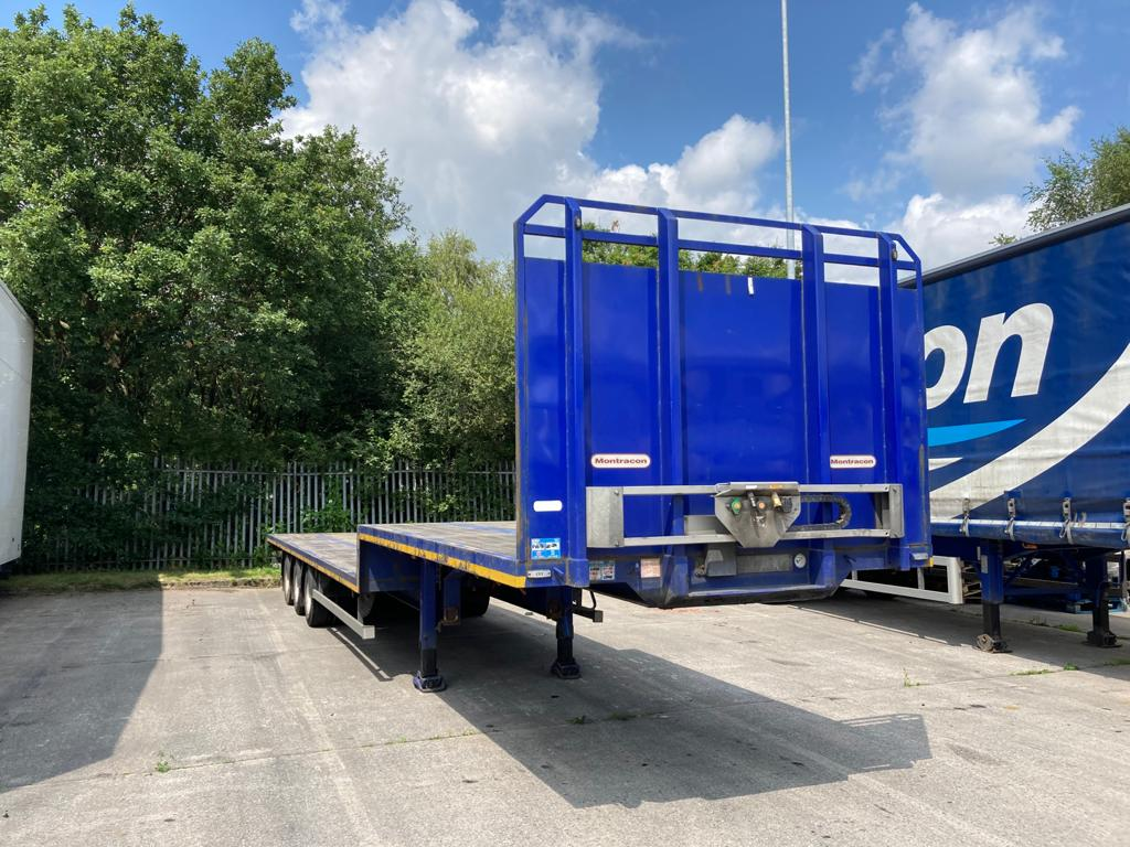 2015 Montracon 13.6m Step Frame Flatbed