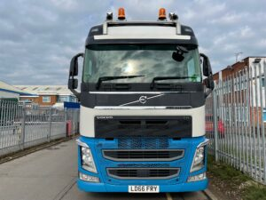 2016 (66) Volvo FH, Euro 6, 540bhp, GTXL Single Sleeper Cab, 4.1m Wheelbase, Mini Mid -Lift Axle, Automatic Gearbox, Fridge, Air Con, Cruise Control, Microwave, Alloy Wheels, Low Mileage, Choice of, Warranty & Finance Options also Available.