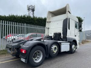 2016 (66) DAF XF, Euro 6, 460bhp, Space Twin Sleeper Cab, 12 Speed AS Tronic Automatic Gearbox, Mid-Lift Axle, Aluminium Catwalk Infill Panels, Radio/USB, Steering Wheel Controls, Air Con, Electrically Heated & Adjustable Mirrors, Warranty & Finance Options Available.