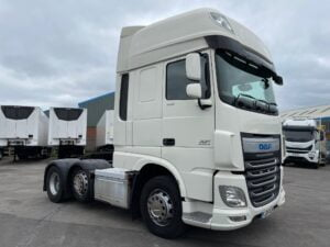 2014 (64) DAF XF, Euro 6, 460bhp, Double Sleeper Superspace Cab, Automatic Gearbox, Steering Wheel Controls, Air Con, Cruise Control, Xtra Comfort Mattress, Fridge, Cruise Control, 3.95m Wheelbase, Finance Options Available.