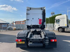 2017 Mercedes Actros, Euro 6, 450bhp, Bigspace Single Sleeper Cab, Mid-Lift Axle, Automatic Gearbox, 4m Wheelbase, Air Con, Cruise Control, Fridge, Steering Wheel Controls, Low Mileage, Choice & Warranty Available.
