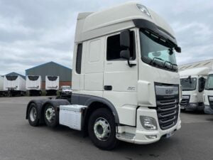 2017 (67) DAF XF, Euro 6, 460bhp, Superspace Twin Sleeper Cab, AS Tronic Automatic Gearbox, Aluminium Catwalk Infill Panels, Steering Wheel Controls, Mid-Lift Axle, Air Con, Radio/USB, Electrically Heated & Adjustable Mirrors, Xtra Comfort Mattress, Low Mileage, Finance & Warranty options Available.