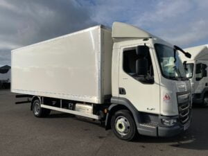 2019 DAF LF, 7.5 Tonne, Euro 6, 180bhp, Automatic Gearbox, Day Cab, Air Con, Steering Wheel Controls, Roller Shutter Rear Door, 17.5 Inch Wheels, 2 x Load Lock Rails, Choice, Warrany & Finance Options also Available.
