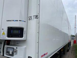 Brand New 2021 Schmitz Fridge Trailer, Carrier Vector HE 19 Fridge Engine, Dual Temperature, 4.08m External Height, 2.59m Internal Height, SAF Axles, Drum Brakes, Aluminium Floor, Barn Doors, 2 x Load Lock Rails, Raise Lower Valve Facility, Jost Landing Legs, Full Manufacturers Warranty Applies, Finance Options Available.
