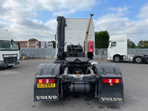 2012 Volvo FH Globetrotter, Euro 5, 460bhp, Automatic Gearbox, Mid-Lift Axle, 804,070km, 4m Wheelbase, Steering Wheel Controls, Air Con, Cruise Control, Electric Mirrors & Windows.
