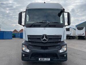 2018 Mercedes Actros 2545, Euro 6, 450bhp, Streamspace Single Sleeper Cab, Automatic Gearbox, Mid-Lift Axle, Air Con, Steering Wheel Controls, Radio/USB, Low Mileage, Choice, Finance & Warranty options Available.
