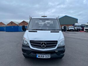 2018 (68) Mercedes Sprinter, 3.5 Tonne, Dropside, Manual Gearbox, Day Cab, Low Mileage, Electric Windows, Steering Wheel Controls, Warranty & Finance Options Available.
