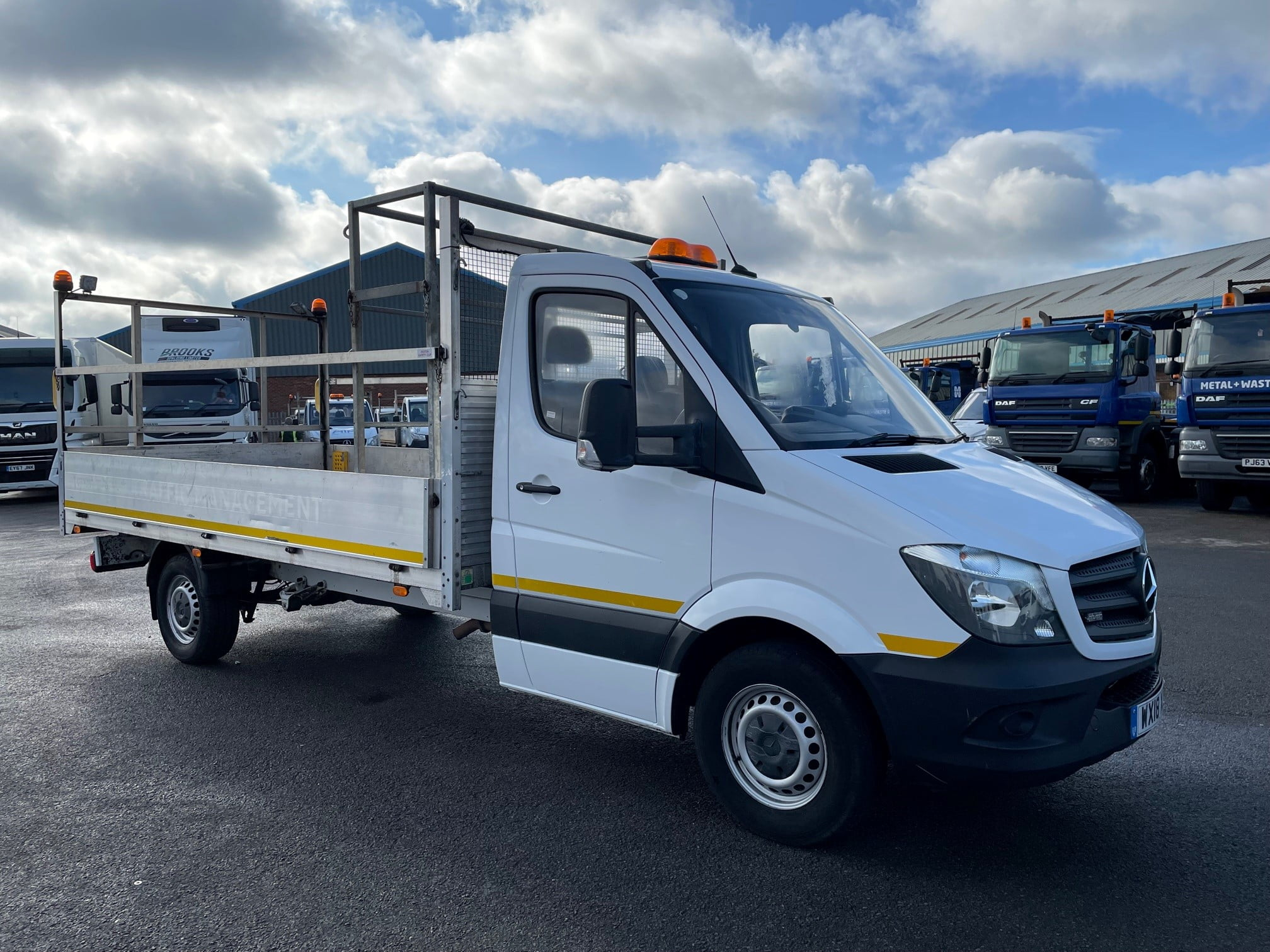 2018 Mercedes Sprinter, 3.5 Tonne, Dropside, Manual Gearbox, Day Cab, Low Mileage, Electric Windows, Steering Wheel Controls, Warranty & Finance Options Available.